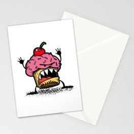 Cupcake Monster Stationery Cards