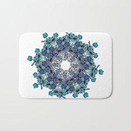 Indigo Bloom Portuguese Tiles – Porto Bath Mat