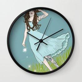 Dandelions Wall Clock