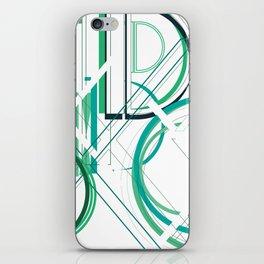 Deco D iPhone Skin
