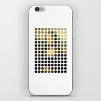 mona lisa iPhone & iPod Skins featuring Mona Lisa by Gary Andrew Clarke