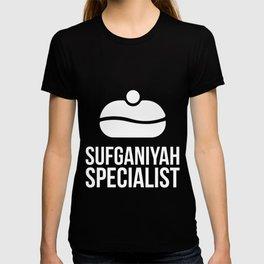 Hanukkah Sufganiyah Specialist Jelly Donut  T-shirt