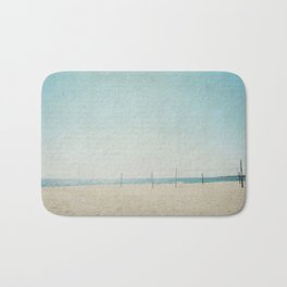 Letters From The Beach Bath Mat