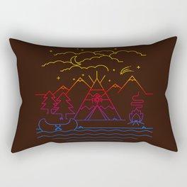 Always Camping Rectangular Pillow