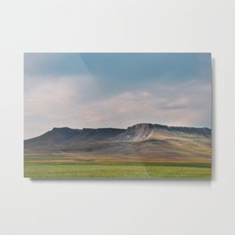 Evening at Square Butte Metal Print