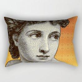 Seductress Orange Rectangular Pillow