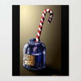 Tainted candy Canvas Print