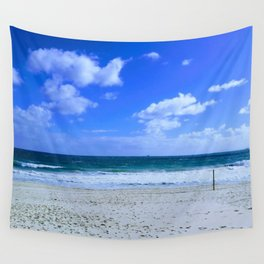 Sky Blue Wall Tapestry