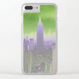 Gotham City Clear iPhone Case