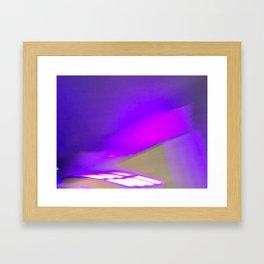 Electro Purple Jesus Framed Art Print