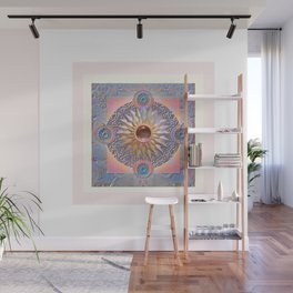 Truth is Beauty Bliss Boho Mandala Meditation Wall Mural