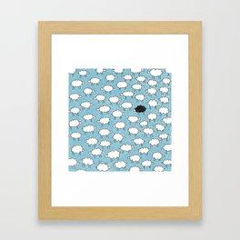 CloudSheeps Framed Art Print