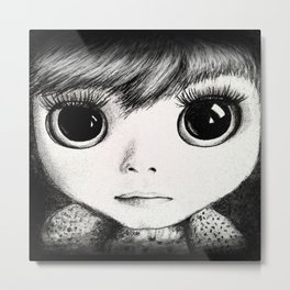 little girl /Agat/ Metal Print