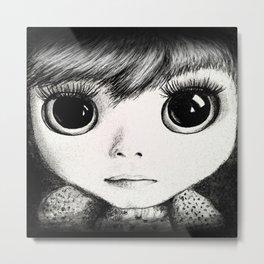 little girl /Agat/ Metal Print
