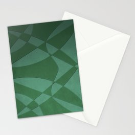 Wings and Sails - Green and Light Green Stationery Cards