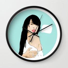 MARIA MENA Wall Clock