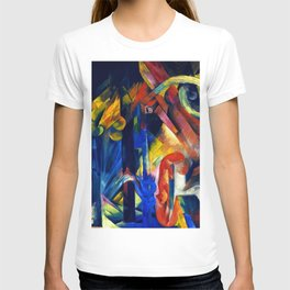 """Franz Marc """"Forest with squirrel"""" T-shirt"""