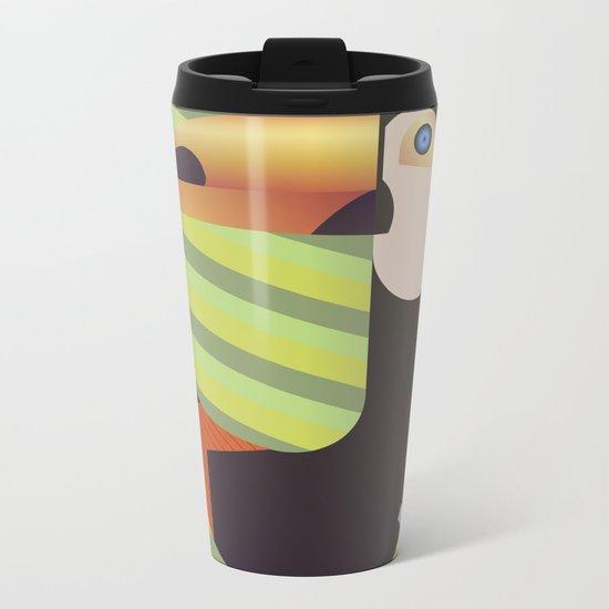 Toucan J Metal Travel Mug