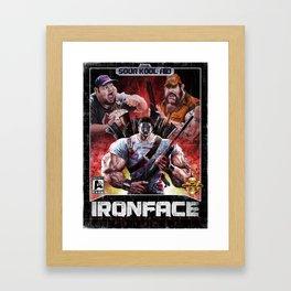 Iron Face: The Nightmare Returns Framed Art Print