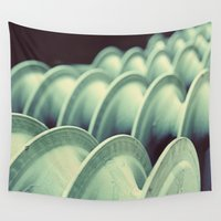 industrial Wall Tapestries featuring industrial by HD Connelly