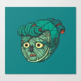 Cabbage lady Canvas Print