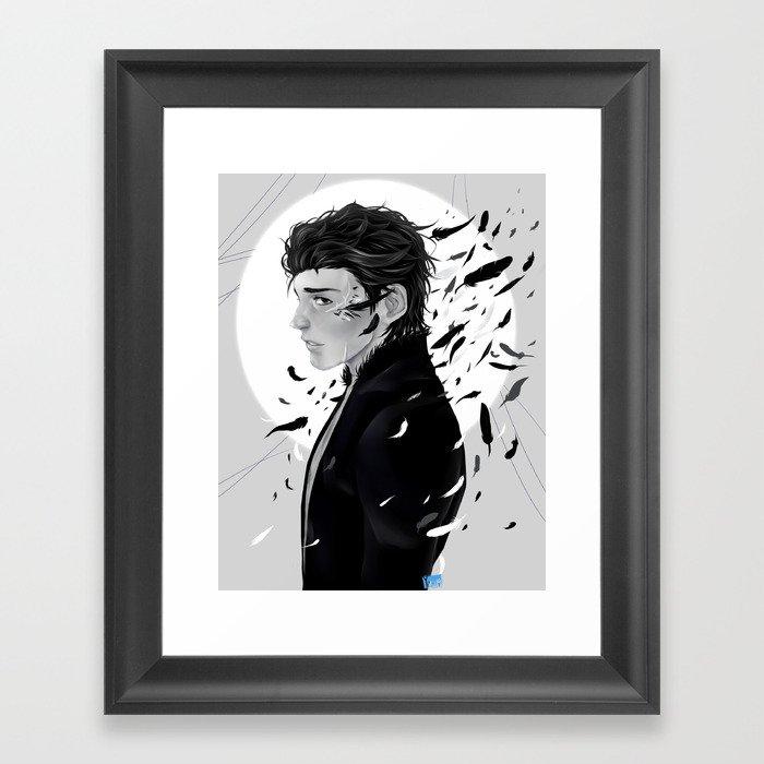 Maleficent Diaval Framed Art Print
