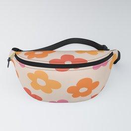 Retro 60s 70s Flowers Pattern #pattern #vintage Fanny Pack