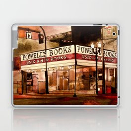 Portland's Powell's Laptop & iPad Skin