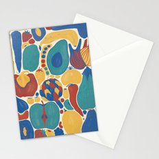 fruits and vegetables strict Stationery Cards