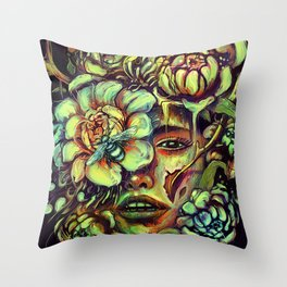 Pollinate Throw Pillow