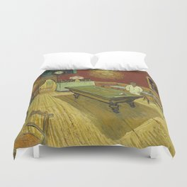 The Night Cafe by Vincent van Gogh Duvet Cover