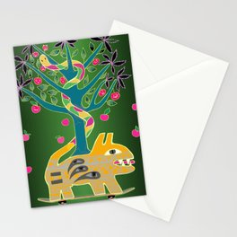 Apple of discord. Stationery Cards