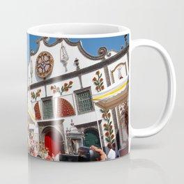 Religious festival in Azores Coffee Mug