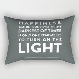 Light - Quotable Series Rectangular Pillow