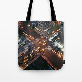 Taxi Central Tote Bag