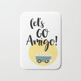 Let's Go Amigo Bath Mat