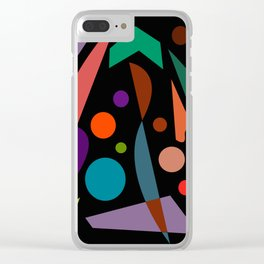 Abstract #306 String Trio Clear iPhone Case