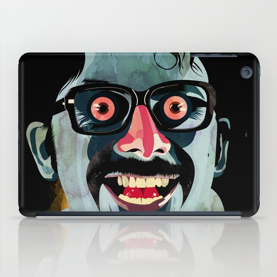 Portrait of Alonso Quijada iPad Case