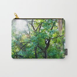 The enchanted woods | Bright tropical forest palm tree exotic green photography Carry-All Pouch