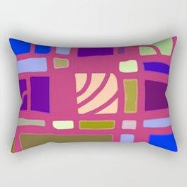 Art Pop: Rectangular Thinking Rectangular Pillow