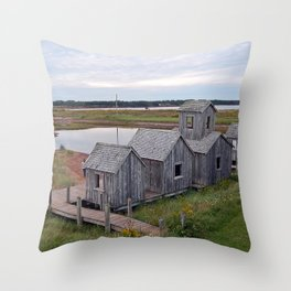 Playtown by the Pond Throw Pillow