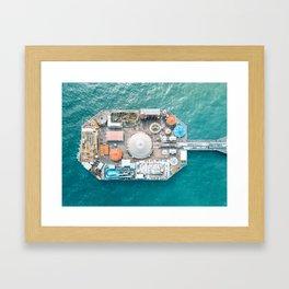 Pier Park Framed Art Print