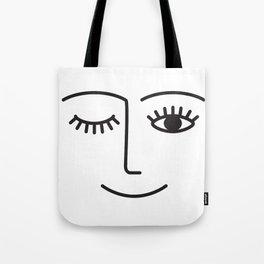 Wink Tote Bag