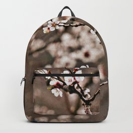 Austrian Spring: Apricot Blossoms Backpack