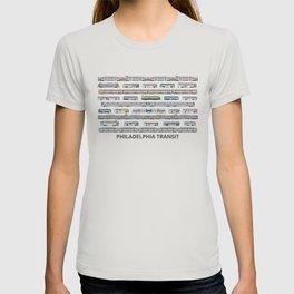 The Transit of Greater Philadelphia T-shirt