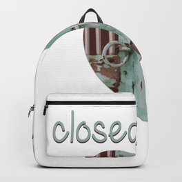 Closed art Illustration Backpack