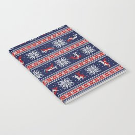 Christmas deer kamasutra Notebook