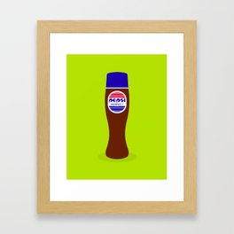 Pepsi Perfect (The 2015 Collection) Framed Art Print