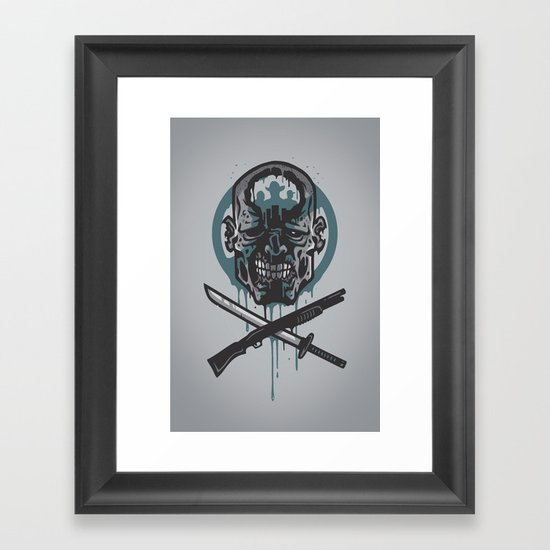Dead Men Walking Framed Art Print
