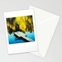 Autumn Pool, Clor Film Photo, Analog Stationery Cards